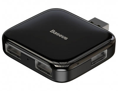 هاب یو اس بی 4 پورت بیسوس Baseus Fully Folded Portable 4in1 USB HUB