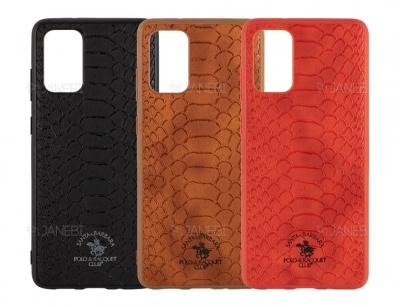 قاب محافظ چرمی پولو سامسونگ Polo Knight Case Samsung S20 Plus