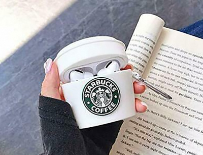 کاور محافظ سیلیکونی ایرپادپرو طرح قهوه استارباکس Starbucks Silicone Case Apple Airpods Pro