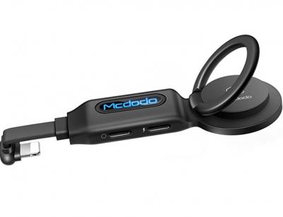 مبدل 4 در 1 لایتنینگ و صدا مک دودو Mcdodo CA-629 4in1 Ligtning Audio Adapter