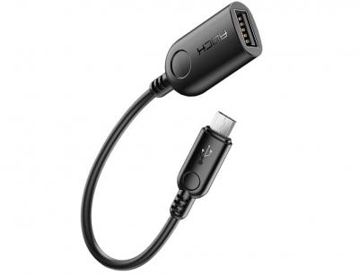 مبدل میکرو یو اس بی به یو اس بی راک Rock Micro USB  to USB 2.0 Adapter