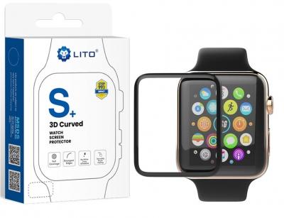 محافظ صفحه نمایش لیتو اپل واچ Lito S+ 3D Protector Apple Watch 44mm