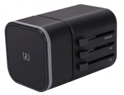 آداپتور دو پورت و مبدل برق چند شاخه شیائومی Xiaomi 90 RM-302PD GOFUN Multifunctional Adapter