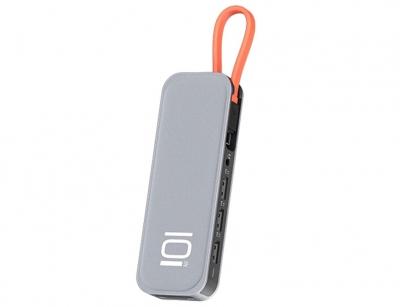 هاب چندکاره 10 پورت تایپ سی راک Rock TR01 Multifunctional Extension Hub Adapter