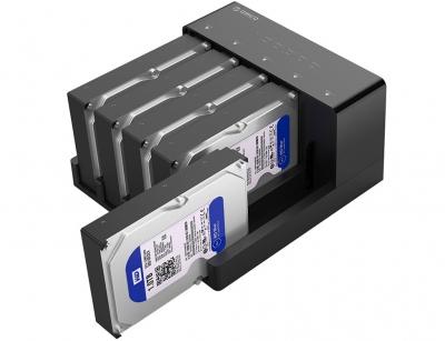 باکس هارد اینترنال به اکسترنال اوریکو Orico 6558US3-C 2.5/3.5inch Hard Drive Enclosure with Duplicator