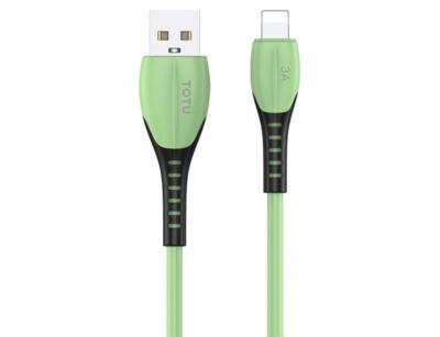 کابل شارژ و انتقال داده لایتنینگ توتو Totu Soft Color BL-005 Lightning Cable 1.2m