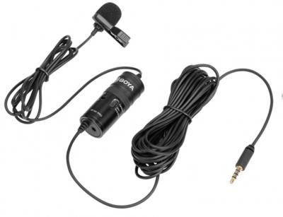 میکروفون با سیم بویا BOYA BY-M1 Pro Universal Lavalier Microphone