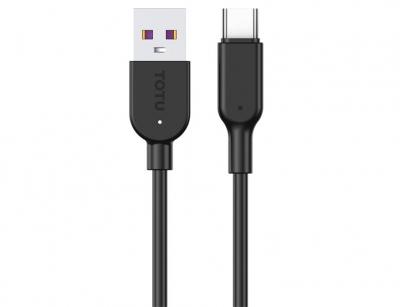 کابل شارژ سریع و انتقال داده تایپ سی توتو Totu BT-002 Type-C Cable 1m