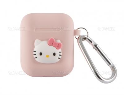 کاور سیلیکونی ایرپاد طرح کیتی Kitty Cartoon Silicone Case Airpods