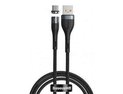 کابل آهنربایی میکرو یو اس بی بیسوس Baseus Zinc Magnetic Micro USB Cable 1m