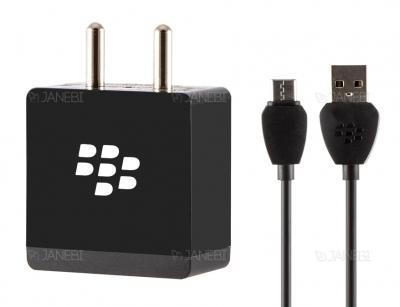 شارژر و کابل تایپ سی اصلی بلک بری Blackberry Adapter Power Type-C Cable