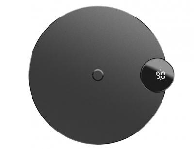 شارژر وایرلس سریع بیسوس Baseus Digtal LED Display Wireless Charger