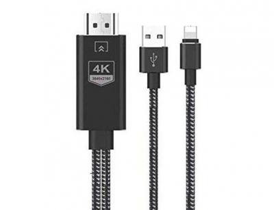 کابل مبدل لایتنینگ به اچ دی ام آی Onten OTN-7519 Lightning to HDMI Cable 1.8m