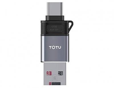 رم ریدر او تی جی تایپ سی توتو Totu FGCR-007 Type-C OTG External TF Flash Card
