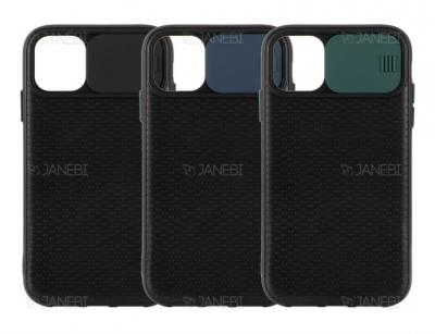 قاب محافظ با درپوش کشویی لنز آیفون Lens protector Case Apple iphone 12 mini