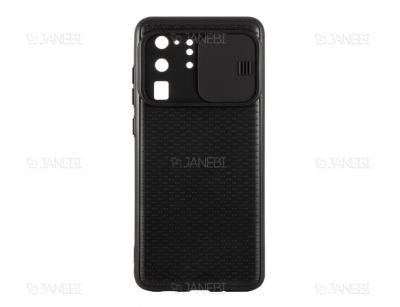 قاب محافظ با درپوش کشویی لنز سامسونگ Lens protector Case Samsung Galaxy S20 Ultra