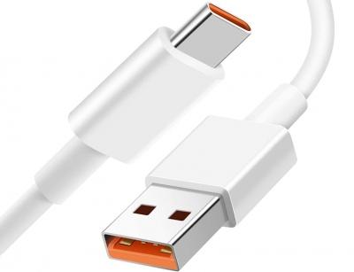 کابل شارژ سریع تایپ سی شیائومی Xiaomi 6A Type-C Fast Charge Cable 1m