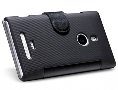 کیف چرمی Nokia Lumia 925T مارک Nillkin