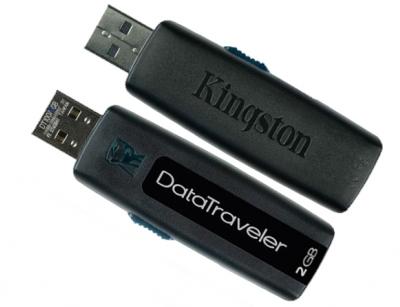 فلش مموری کینگستون Kingston Data Traveler 100 2GB