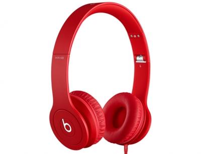 هدفون بیتس الکترونیکز Beats Dr.Dre Solo HD Matte Red