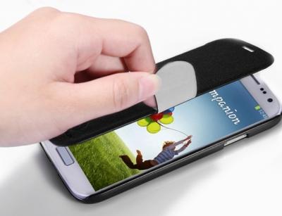 کیف چرمی مدل05 برای Samsung Galaxy S4 مارک Nillkin