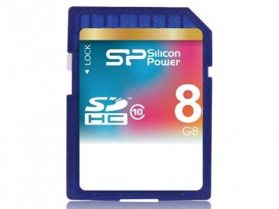 رم اسدی 8 گیگابایت Silicon Power Class 10