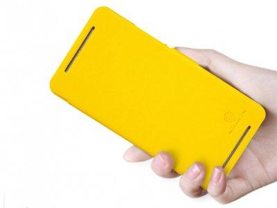 کیف چرمی مدل02 HTC One Max مارک Nillkin