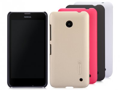 قاب محافظ نیلکین نوکیا Nillkin Frosted Shield Case Nokia Lumia 630