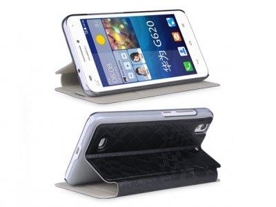 کیف چرمی Huawei Ascend G620 مارک Baseus