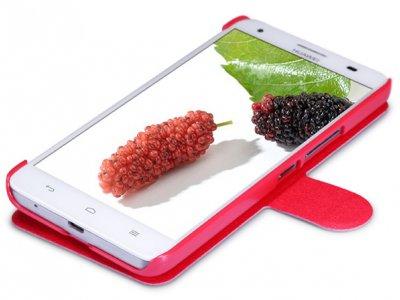 کیف چرمی Huawei Honor 3X مارک Nillkin