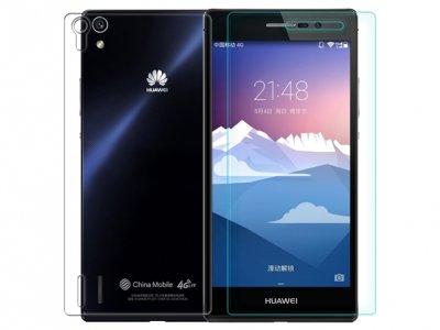 محافظ صفحه نمایش شیشه ای Huawei Ascend P7 مارک Nillkin