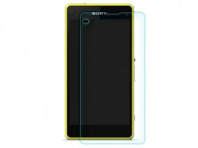 محافظ صفحه نمایش شیشه ای Sony Xperia Z1 Compact مارک Nillkin