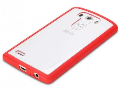 قاب محافظ شیشه ای LG G3 مارک Rock