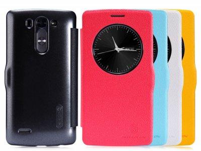 کیف چرمی مدل LG G3 مارک Nillkin