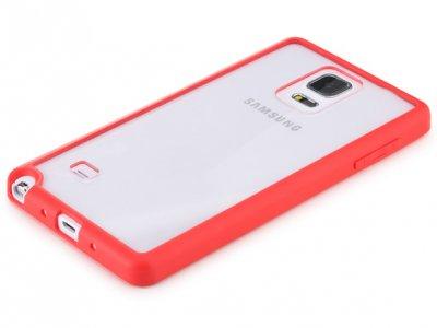 قاب محافظ شیشه ای Samsung Galaxy Note 4 مارک Rock