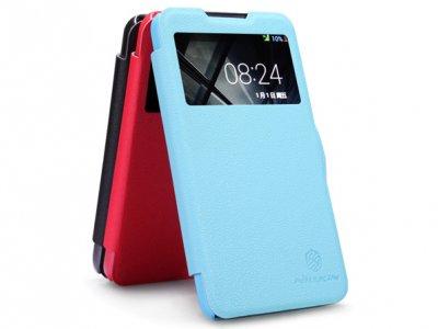 کیف چرمی HTC Desire 516 مارک Nillkin