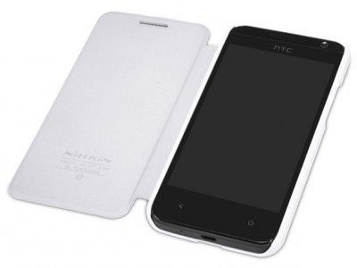 کیف چرمی مدل01 HTC Desire 300 مارک Nillkin