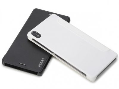 کیف چرمی Sony Xperia Z3 مارک Rock