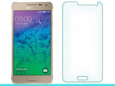 محافظ صفحه نمایش شیشه ای Samsung Galaxy Alpha مارک Nillkin