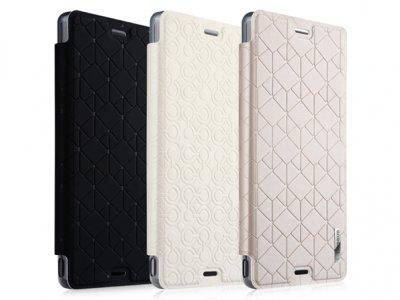 کیف چرمی Sony Xperia Z3 مارک Baseus