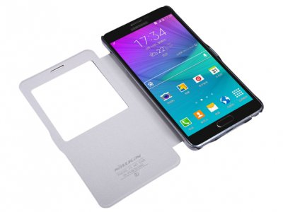 کیف چرمی Samsung Galaxy Note 4 مارک Nillkin