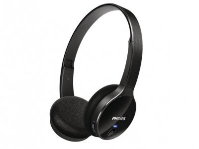 هدست بلوتوث فیلیپس Philips Bluetooth Stereo Headset SHB4000WT