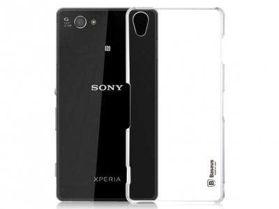قاب محافظ شیشه ای Sony Xperia Z3 مارک Baseus