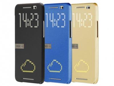 کیف هوشمند HTC One E8 مارک Rock