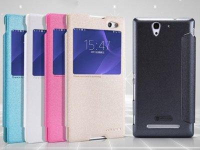 کیف نیلکین سونی Nillkin Sparkle Case Sony Xperia C3