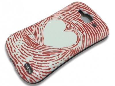 قاب محافظ Samsung Galaxy S3 مدل قلب مارک iFace