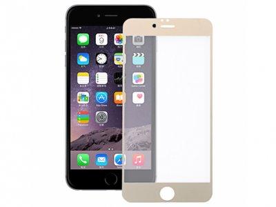 محافظ صفحه نمایش شیشه ای طلایی Apple iphone 6