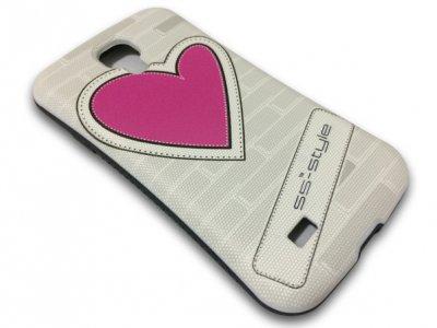 قاب محافظ Samsung Galaxy S4 مدل قلب مارک iFace