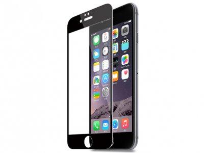 محافظ صفحه نمایش شیشه ای مشکی Apple iphone 6 مارک Nillkin