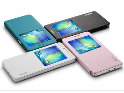 کیف چرمی Samsung Galaxy A5 مارک Rock